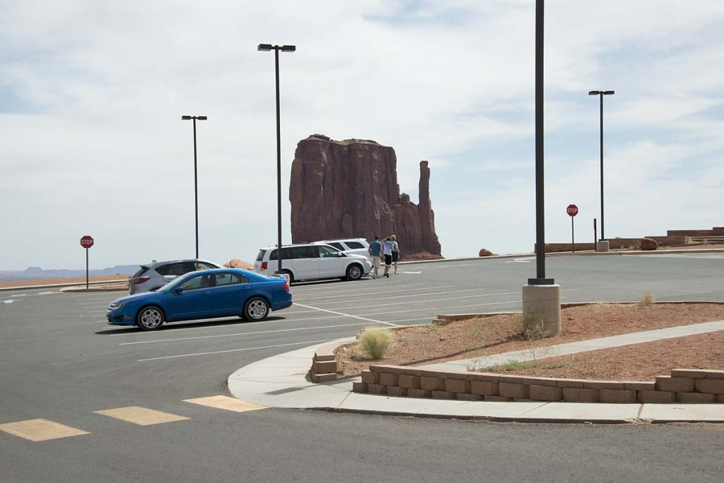 Monument Valley: the grand view from the parking lot